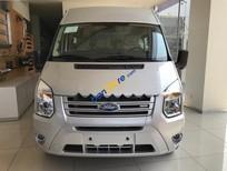 Cần bán Ford Transit Medium đời 2017, màu bạc, 872tr