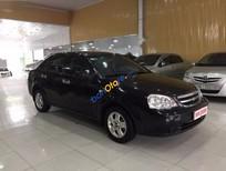 Cần bán xe Chevrolet Lacetti năm sản xuất 2011, màu đen, giá tốt