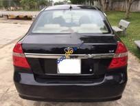 Cần bán lại xe Daewoo Gentra SX đời 2008, màu đen, 185 triệu