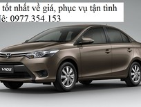 Bán Toyota Vios đời 2017, màu nâu, giá 564tr