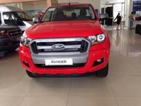 Ford Ranger XL 2017, màu đỏ, nhập khẩu, giá 570tr