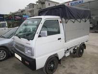Bán Suzuki 5 tạ thùng phủ bạt 2017, màu trắng
