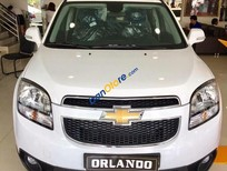 Cần bán Chevrolet Orlando LT năm sản xuất 2017, màu trắng, giá 639tr
