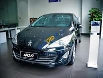 Showroom Peugeot Hà Nội bán xe Peugeot 408 2.0L đời 2017, màu đen