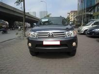 Cần bán Toyota Fortuner 2010, màu xám