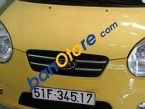 Cần bán xe Kia Morning AT đời 2009, màu vàng