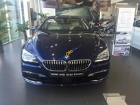 Bán ô tô BMW 6 Series 640i Gran Coupe đời 2017, màu xanh lam, xe nhập