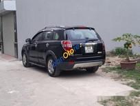 Cần bán xe Chevrolet Captiva MT 2008, màu đen