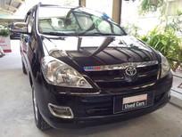 Bán ô tô Toyota Innova G đời 2006, màu đen, số sàn, 430 triệu