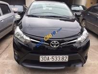 Bán xe cũ Toyota Vios E đời 2015, màu đen còn mới, giá 515tr