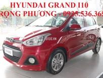 Bán ô tô Hyundai Grand i10 đời 2018, màu đỏ, nhập khẩu