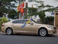 Bán Lexus LS 460L đời 2007, màu vàng, nhập khẩu