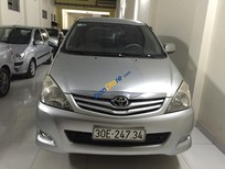 Cần bán xe Toyota Innova G đời 2008, màu bạc, 485tr