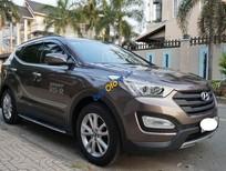 Cần bán xe Hyundai Santa Fe 2WD sản xuất 2013, màu nâu, nhập khẩu