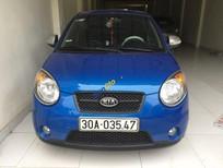 Bán ô tô Kia Morning SLX sản xuất 2008, màu xanh lam, nhập khẩu nguyên chiếc, giá 280tr