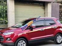 Bán xe Ford EcoSport AT đời 2017, màu đỏ chính chủ