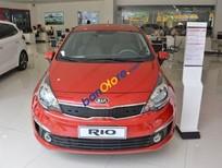 Bán Kia Rio 4 DRAT sản xuất 2017, màu đỏ, giá 515tr