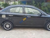 Bán xe Daewoo Gentra SX đời 2009, màu đen, xe đẹp hoàn hảo ngoại và nội thất