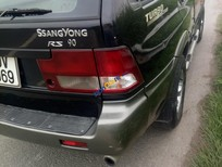 Cần bán xe Ssangyong Musso đời 2004, màu đen, nhập khẩu