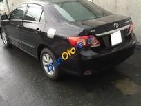 Cần bán lại xe Toyota Corolla Altis MT đời 2012, màu đen, giá tốt