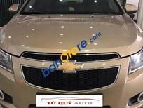Tứ Quý Auto bán xe Chevrolet Cruze 1.6 MT đời 2012, màu vàng số sàn, 425 triệu