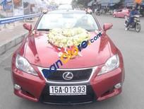 Bán Lexus IS 2.5 AT đời 2009, màu đỏ, nhập khẩu chính chủ