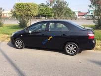 Xe Toyota Vios 1.5MT năm 2009, màu đen