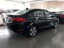 Cần bán Honda City năm 2017, màu đen, giá tốt