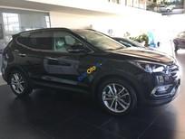 Cần bán xe Hyundai Santa Fe sản xuất 2017, màu đen
