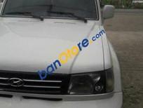 Cần bán Hyundai Galloper MT 2001, màu trắng số sàn