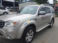 Cần bán lại xe Ford Everest Limited sản xuất 2011, màu bạc, 660tr
