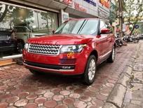 Bán ô tô LandRover Range rover Supercharged HSE năm sản xuất 2016, màu đỏ, nhập khẩu