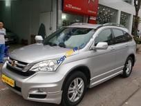 Cần bán gấp Honda CR V 2.4AT đời 2011, màu bạc, giá tốt