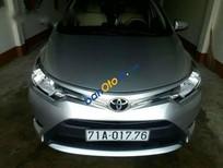Bán Toyota Vios E đời 2015, màu bạc