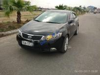 Cần bán gấp Kia Forte SX sản xuất 2011, màu đen, giá tốt