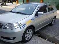 Bán Toyota Vios 1.5G đời 2006, màu bạc số sàn