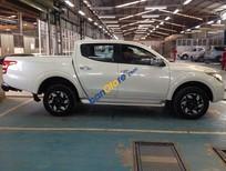 Bán Mitsubishi Triton 4x4 Mivec sản xuất 2017, màu trắng, nhập khẩu. Giao xe ngay hỗ trợ trả góp 85%