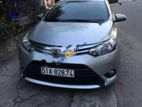 Cần bán Toyota Vios E đời 2014, màu bạc số sàn