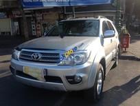 Bán xe cũ Toyota Fortuner V đời 2011, màu bạc số tự động, 655tr