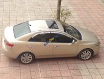 Bán ô tô Kia Forte Sx sản xuất 2012, màu vàng xe gia đình