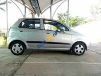 Cần bán Chevrolet Spark MT đời 2009, màu bạc số sàn