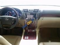 Cần bán xe Lexus LS 460L đời 2008, màu đen, xe nhập chính chủ