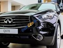 Bán Infiniti QX70 đời 2017, màu đen, xe nhập