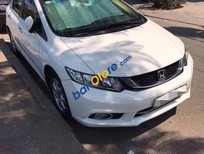 Bán Honda Civic 2015, màu trắng, nội thất màu kem trang nhã, hoàn toàn như xe mới