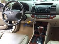 Bán Toyota Camry 3.0V đời 2004, màu đen