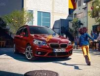 Cần bán BMW 2 Series Gran Tourer 218i sản xuất năm 2017, màu đỏ, xe nhập