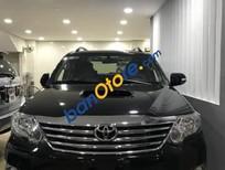 Bán Toyota Fortuner G đời 2013, màu đen, 840tr