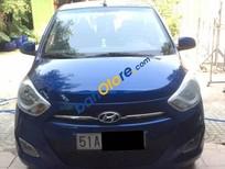 Bán xe cũ Hyundai i10 đời 2011, màu xanh lam, nhập khẩu
