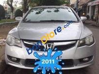 Bán xe cũ Honda Civic AT đời 2011, màu bạc số tự động, giá 535tr