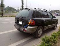 Bán Hyundai Santa Fe Gold sản xuất 2003, màu đen, xe nhập